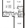 Продается квартира 2-ком 58 м² Венская улица 4к 2, метро Улица Дыбенко
