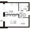Продается квартира 1-ком 34 м² Европейский проспект 11, метро Улица Дыбенко