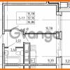 Продается квартира 1-ком 32.16 м² улица Костюшко 19, метро Московская