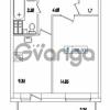 Продается квартира 1-ком 36.93 м² Европейский проспект 14к 1, метро Улица Дыбенко