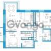 Продается квартира 2-ком 74.18 м² Комендантский проспект 58к 1, метро Комендантский проспект
