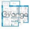 Продается квартира 2-ком 74.52 м² Комендантский проспект 58к 1, метро Комендантский проспект