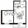 Продается квартира 1-ком 38.92 м² Охтинская аллея 1, метро Девяткино