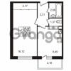 Продается квартира 1-ком 34 м² Гатчинское шоссе 7А, метро Проспект Ветеранов