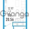 Продается квартира 1-ком 20 м² улица Шувалова 1, метро Девяткино