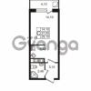 Продается квартира 1-ком 29.1 м² Привокзальная улица 1, метро Купчино