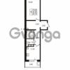 Продается квартира 2-ком 45.43 м² Привокзальная улица 1, метро Купчино
