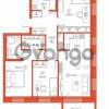 Продается квартира 3-ком 81.28 м² Комендантский проспект 58к 1, метро Комендантский проспект