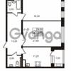 Продается квартира 2-ком 70.9 м² Приморский проспект 44, метро Старая деревня