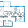Продается квартира 2-ком 83.97 м² Комендантский проспект 58к 1, метро Комендантский проспект