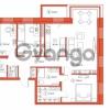 Продается квартира 3-ком 98.2 м² Комендантский проспект 58к 1, метро Комендантский проспект