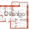 Продается квартира 3-ком 98.56 м² Комендантский проспект 58к 1, метро Комендантский проспект