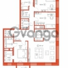 Продается квартира 3-ком 108.86 м² Комендантский проспект 58к 1, метро Комендантский проспект