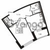 Продается квартира 1-ком 48.7 м² Приморский проспект 44, метро Старая деревня