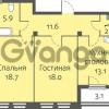 Продается квартира 2-ком 69.7 м² улица Кременчугская 13к А, метро Площадь Восстания