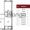 Продается квартира 3-ком 87 м² Кременчугская улица 9к 2, метро Площадь Восстания