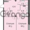 Продается квартира 3-ком 111 м² улица Кременчугская 13к А, метро Площадь Восстания