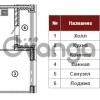 Продается квартира 1-ком 44 м² Полтавский проезд 2, метро Площадь Восстания