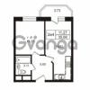 Продается квартира 1-ком 35.66 м² Школьная улица 7к 2, метро Купчино