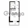 Продается квартира 1-ком 24.19 м² Австрийская улица 4, метро Улица Дыбенко