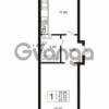 Продается квартира 1-ком 41.23 м² Австрийская улица 4, метро Улица Дыбенко