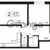 Продается квартира 2-ком 52.1 м² Школьная 6, метро Проспект Просвещения