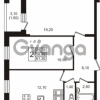 Продается квартира 2-ком 61.3 м² Московский проспект 65, метро Фрунзенская