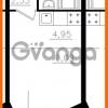 Продается квартира 1-ком 21.1 м² Почтовая улица 8, метро Ладожская