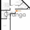 Продается квартира 2-ком 56.1 м² Почтовая улица 8, метро Ладожская