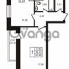 Продается квартира 1-ком 39.33 м² улица Кирова 11, метро Улица Дыбенко