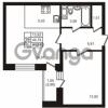 Продается квартира 1-ком 44.74 м² улица Кирова 11, метро Улица Дыбенко