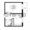 Продается квартира 1-ком 32.19 м² проспект Энергетиков 9, метро Ладожская
