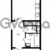 Продается квартира 1-ком 45.01 м² проспект Энергетиков 9, метро Ладожская