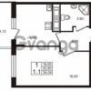 Продается квартира 1-ком 32.8 м² проспект Строителей 7, метро Улица Дыбенко