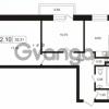 Продается квартира 2-ком 52.31 м² Европейский проспект 14, метро Улица Дыбенко