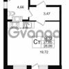 Продается квартира 1-ком 27.85 м² улица Шувалова 1, метро Девяткино