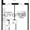 Продается квартира 1-ком 34.09 м² улица Шувалова 1, метро Девяткино