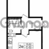 Продается квартира 1-ком 41.6 м² улица Шувалова 1, метро Девяткино