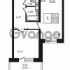 Продается квартира 1-ком 44 м² Новая улица 15, метро Ладожская