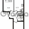 Продается квартира 2-ком 56 м² Новая улица 15, метро Ладожская
