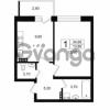 Продается квартира 1-ком 36.05 м² Выборгское шоссе 1, метро Пропект Просвещения