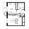 Продается квартира 1-ком 33.74 м² Комендантский проспект 53к 1, метро Комендантский проспект