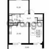 Продается квартира 2-ком 68.53 м² Комендантский проспект 53к 1, метро Комендантский проспект