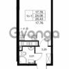 Продается квартира 1-ком 24.06 м² Комендантский проспект 53к 1, метро Комендантский проспект