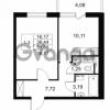 Продается квартира 1-ком 38.44 м² Комендантский проспект 53к 1, метро Комендантский проспект