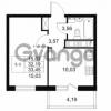 Продается квартира 1-ком 32.19 м² Комендантский проспект 53к 1, метро Комендантский проспект