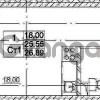 Продается квартира 1-ком 25.55 м² Европейский проспект 4к 2, метро Улица Дыбенко