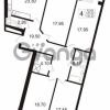 Продается квартира 4-ком 127.37 м² Ушаковская набережная 3, метро Черная речка