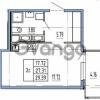 Продается квартира 1-ком 27.31 м² Комендантский проспект 53к 1, метро Комендантский проспект