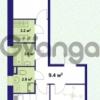 Продается квартира 2-ком 57.1 м² улица Крыленко 1, метро Улица Дыбенко